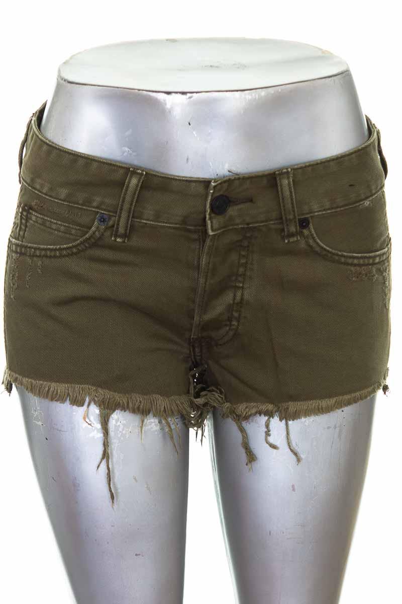 Short Jean color Verde - Abercrombie