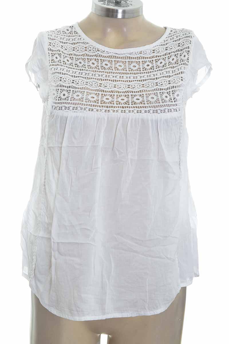 Blusa color Blanco - Sybilla