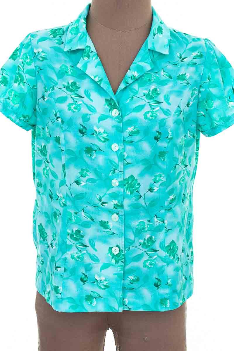 Blusa Casual color Verde - Closeando