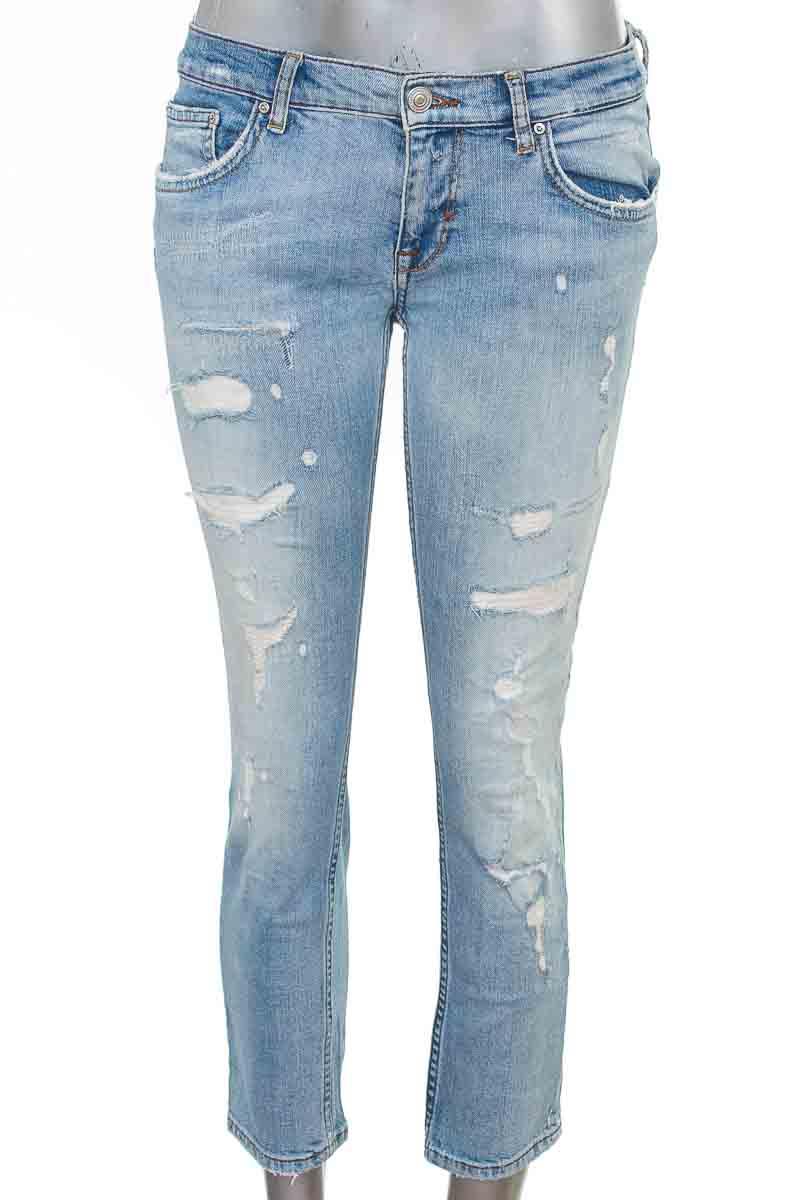Pantalón Jeans color Azul - Zara