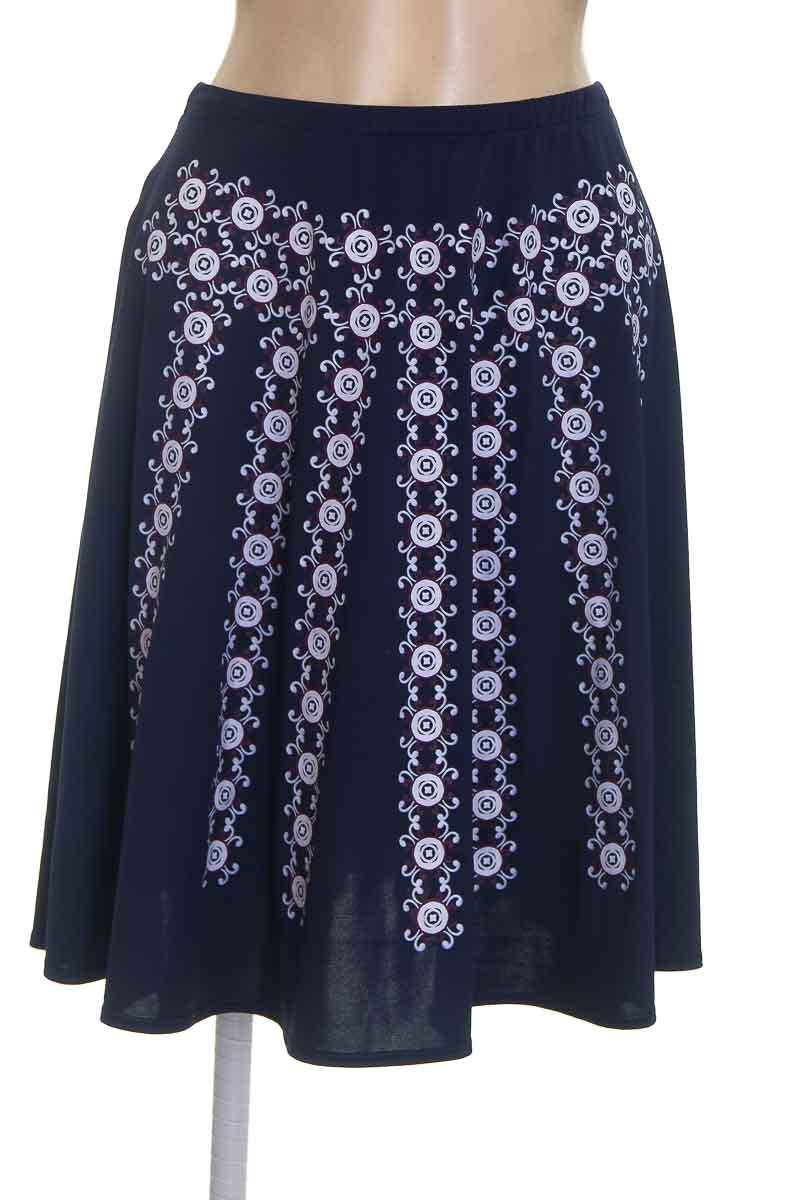 Falda color Azul - Azorti