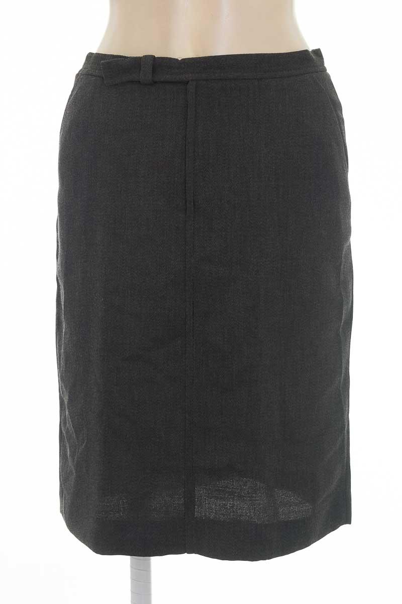 Falda color Gris - Zara