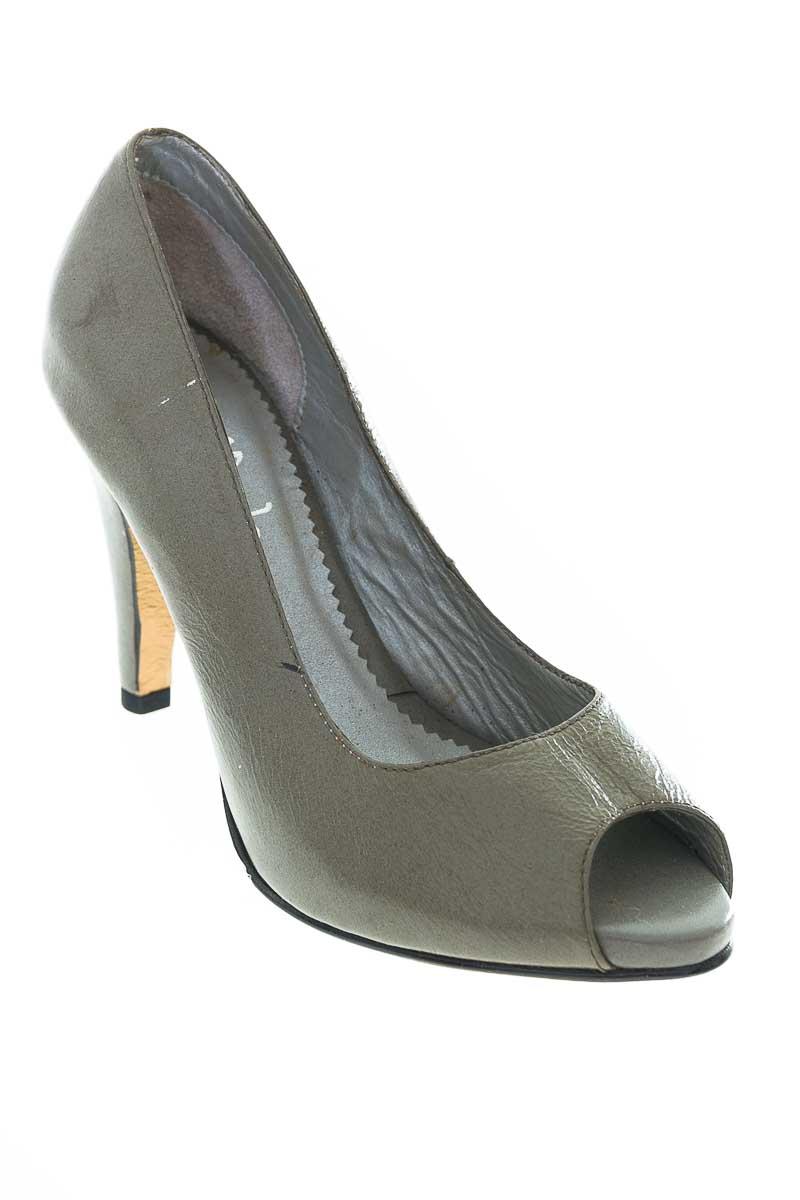 Zapatos Tacón color Gris - La Moda