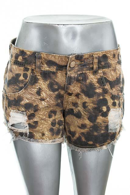 Short Jean color Estampado - Hippie & chic