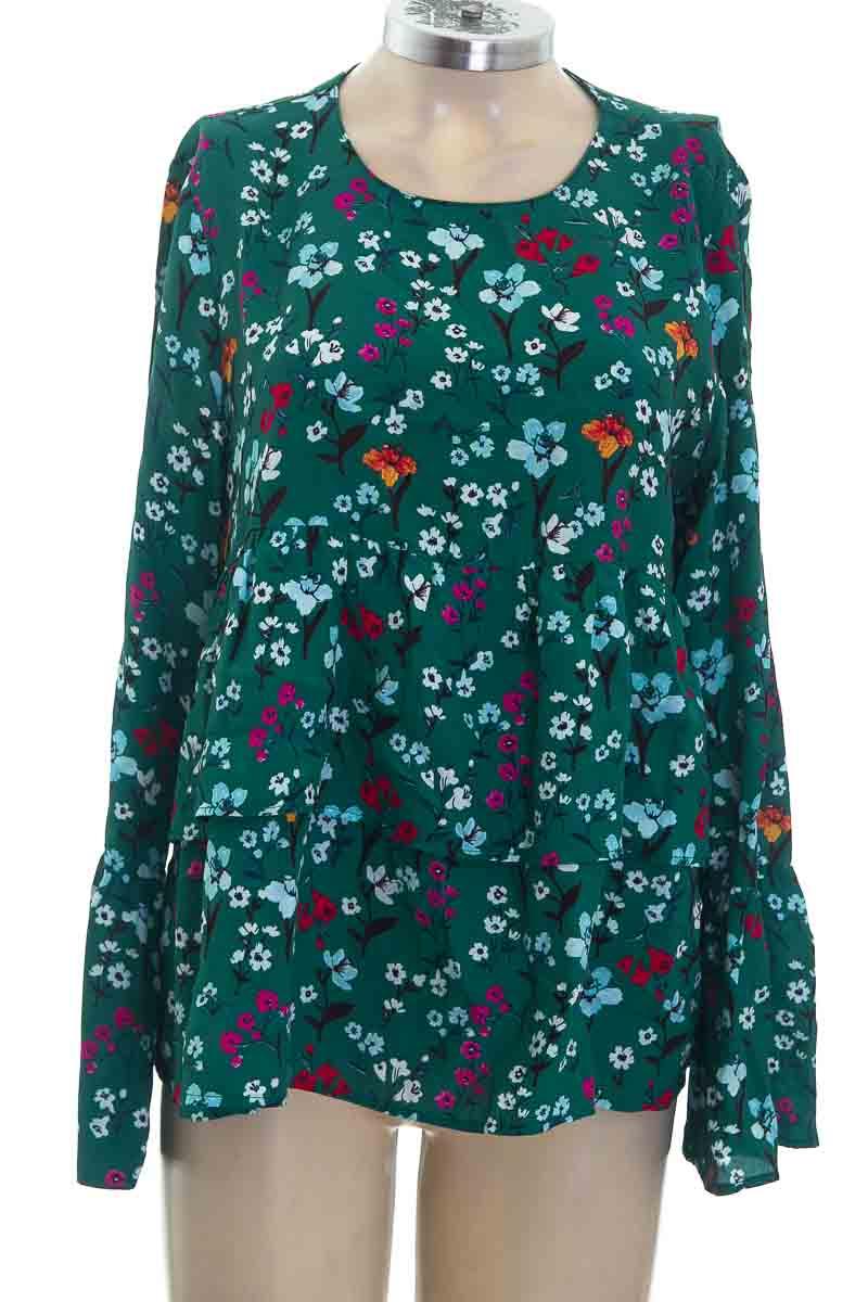 Blusa color Verde - Zara