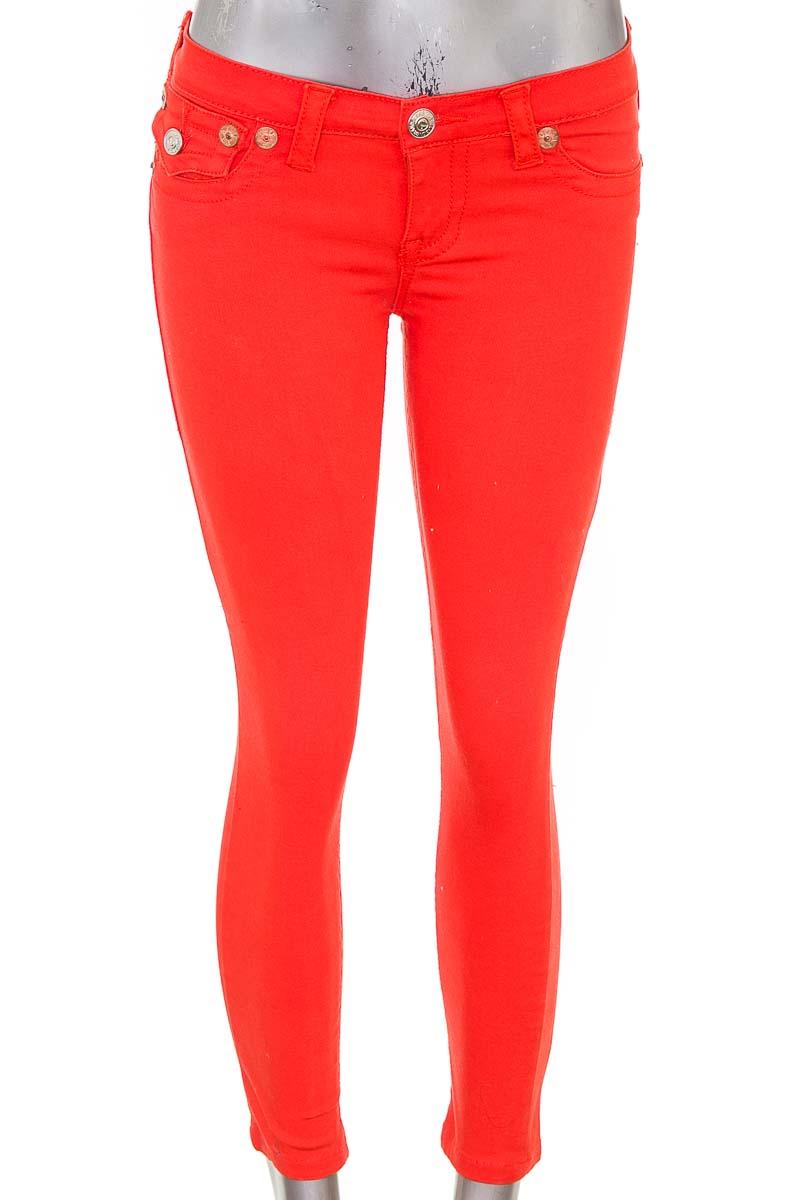 Pantalón Casual color Naranja - True Religion