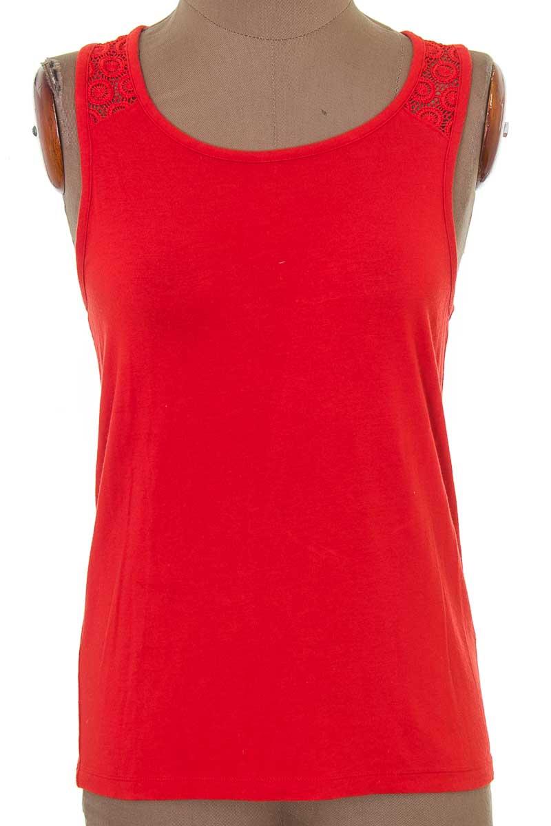 Top / Camiseta color Naranja - Banana Republic