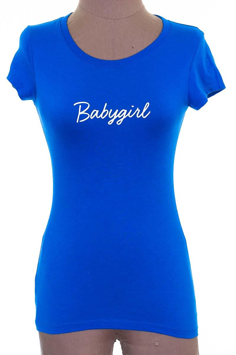 Top / Camiseta color Azul - Woundup