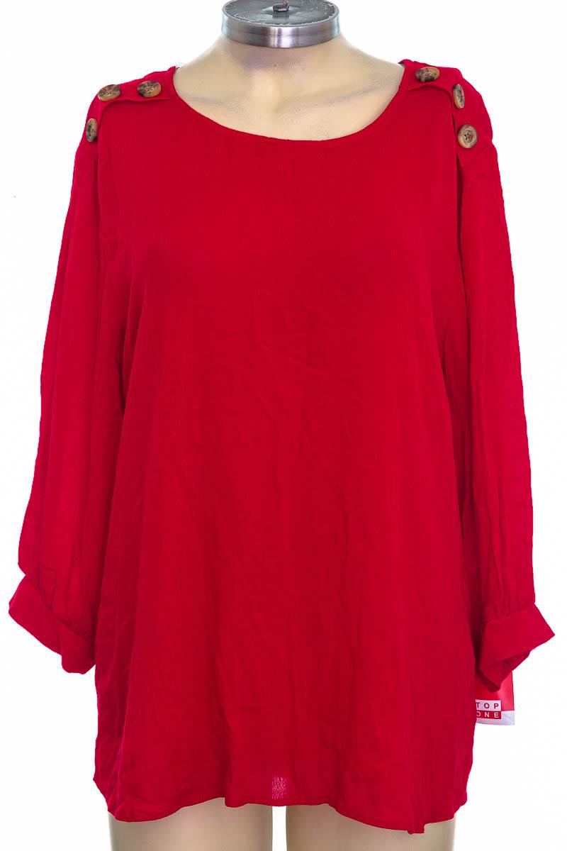 Blusa color Rojo - TOP ONE