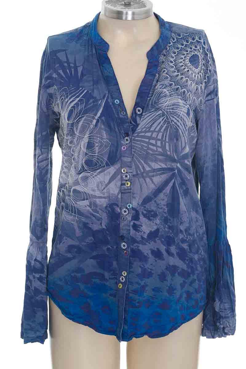 Blusa color Azul - Desigual