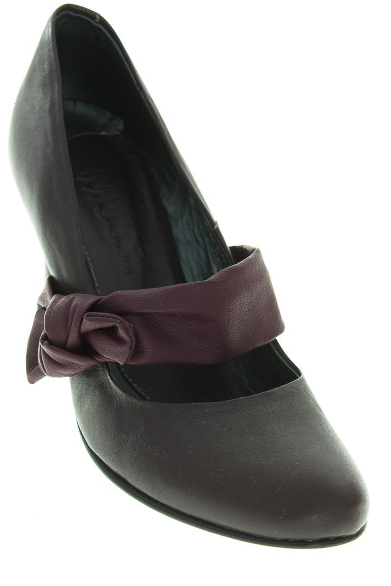 Zapatos Tacón color Vinotinto - Mussi