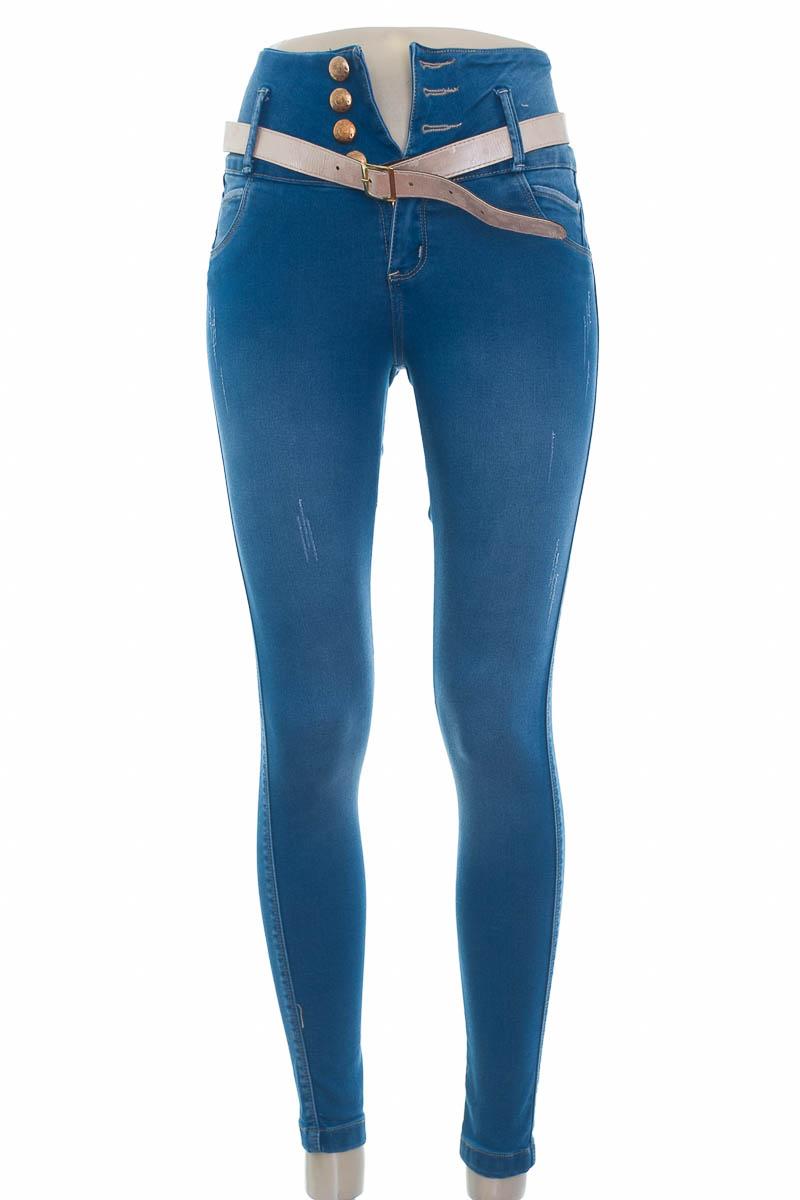 Pantalón color Azul - Xixmo Jeans