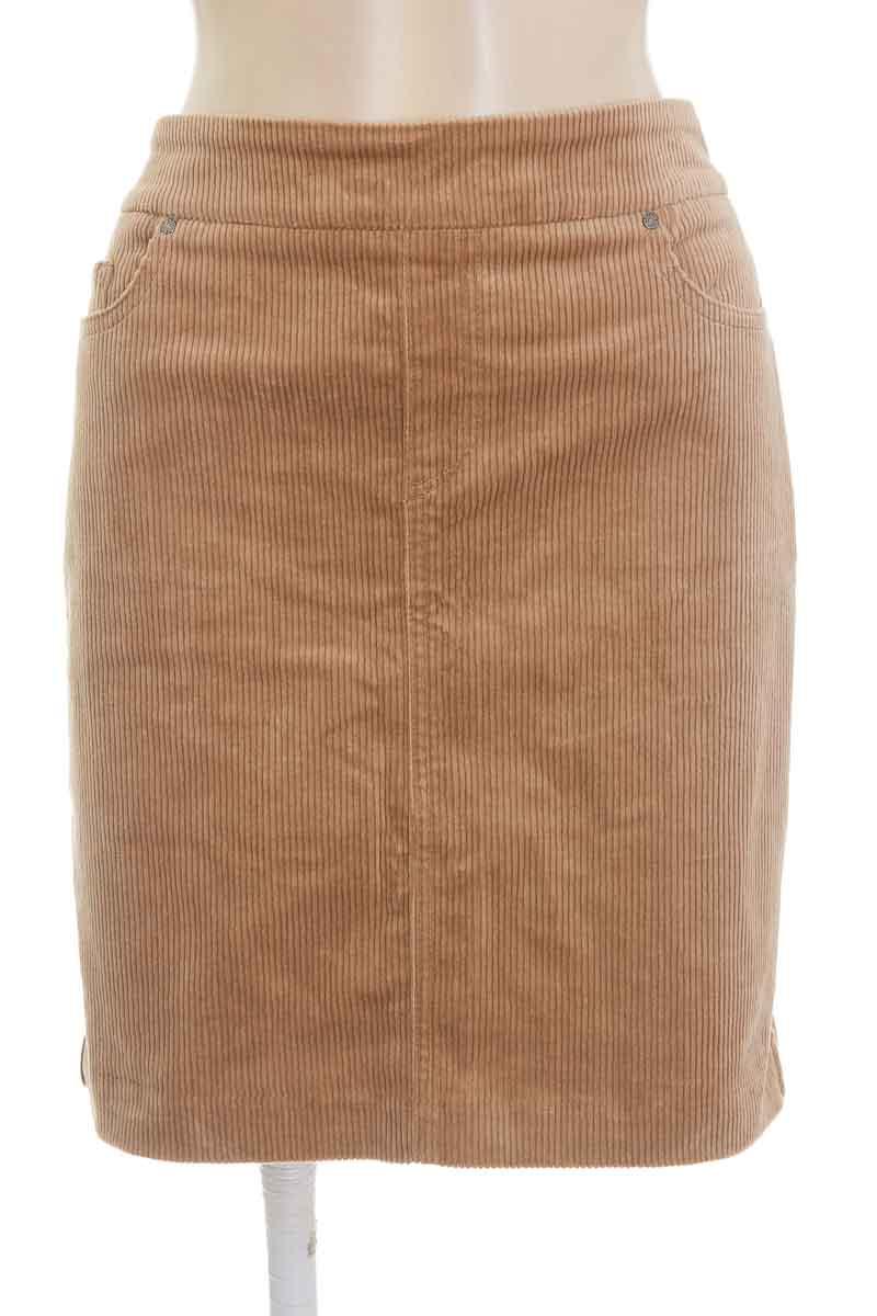 Falda color Beige - S.C. & CO.
