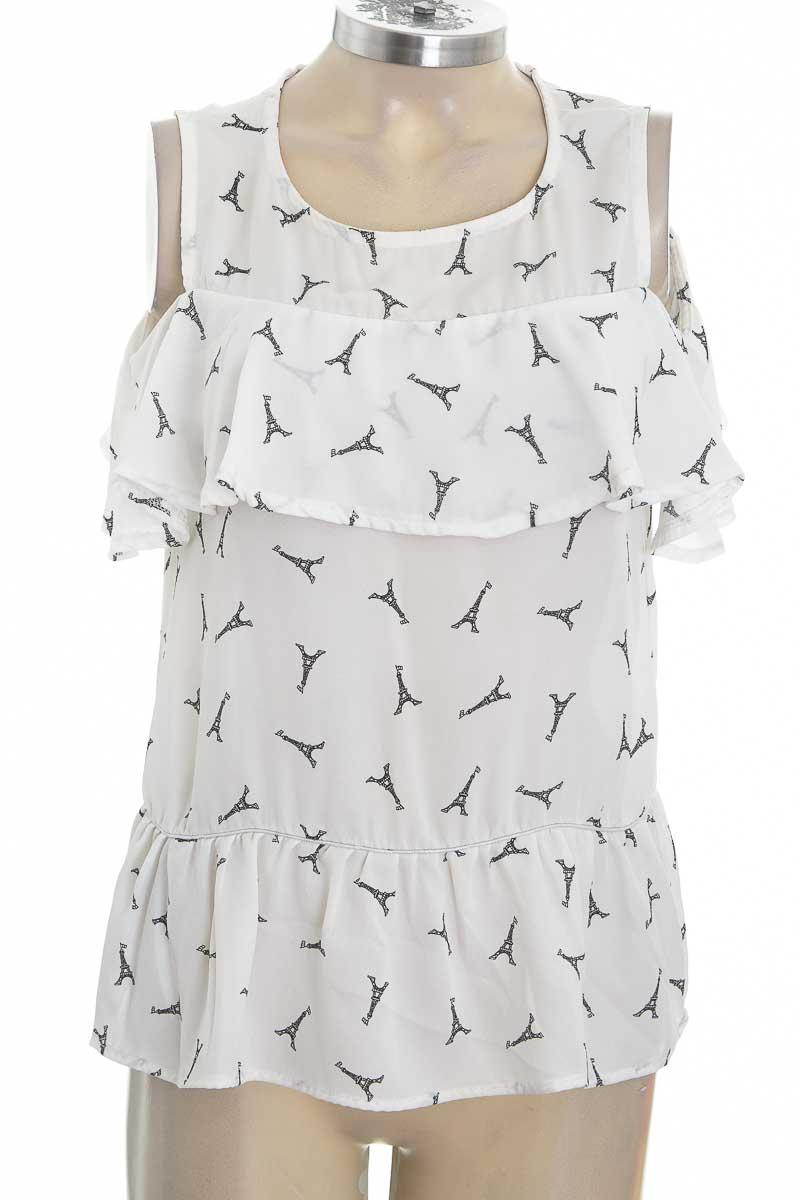 Blusa color Blanco - Moral Fiber