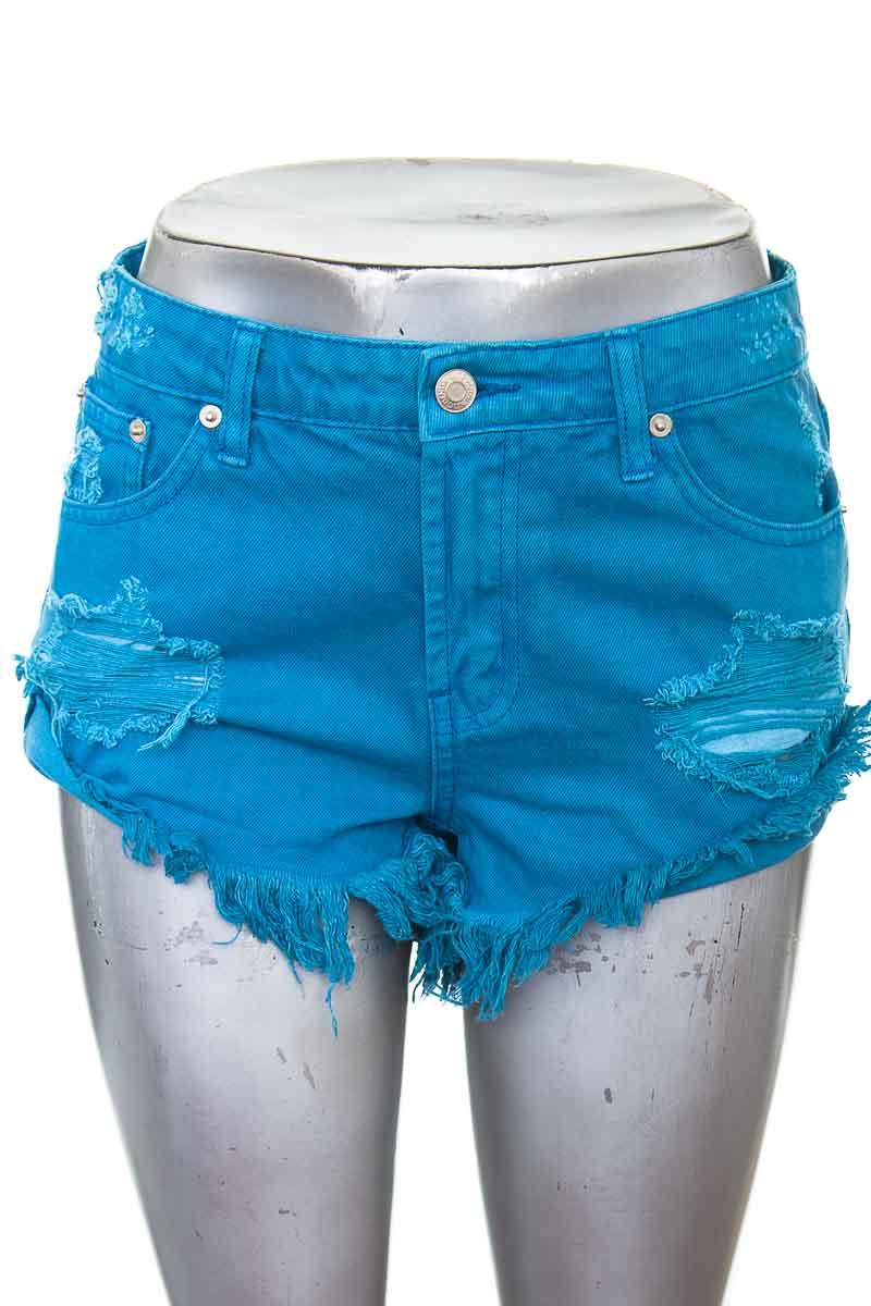 Short Jean color Azul - Litz