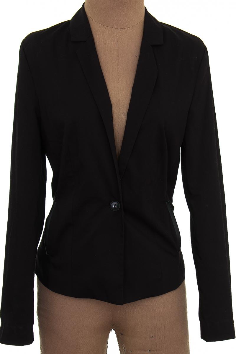Chaqueta / Abrigo color Negro - NAF NAF