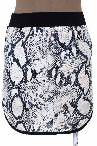 Falda Casual color Beige - Color Siete