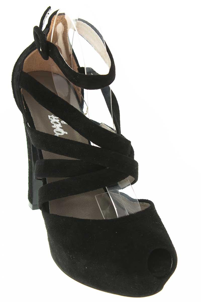 Zapatos Tacón color Negro - Gach