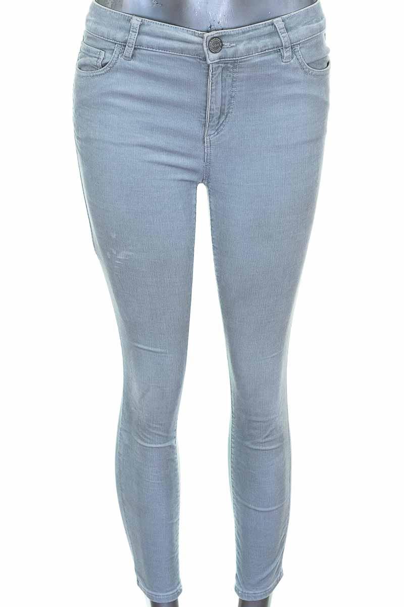 Pantalón Casual color Gris - Loft