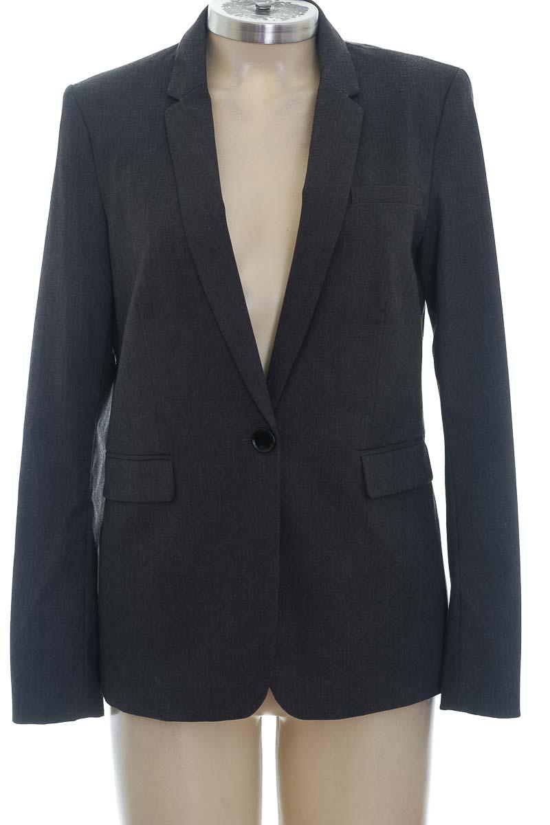 Chaqueta / Abrigo color Negro - H&M