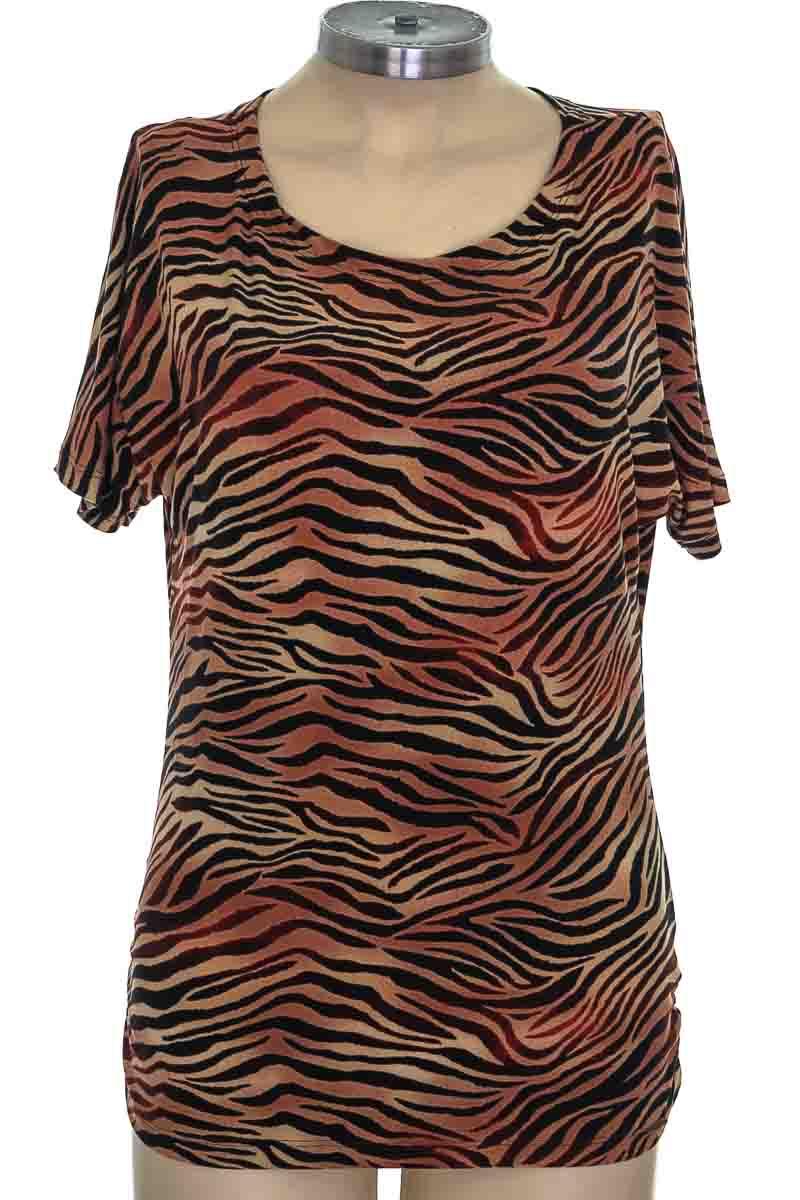 Top / Camiseta color Café - TOP IN