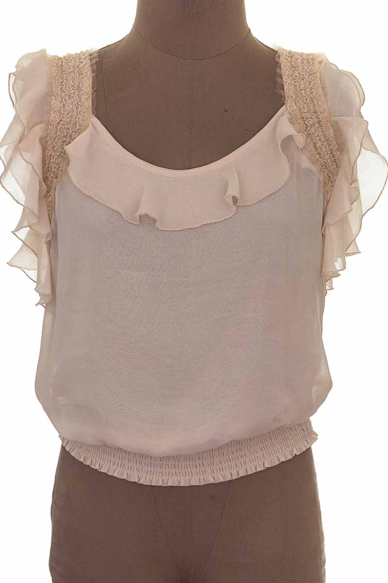 Blusa Casual color Beige - Closeando