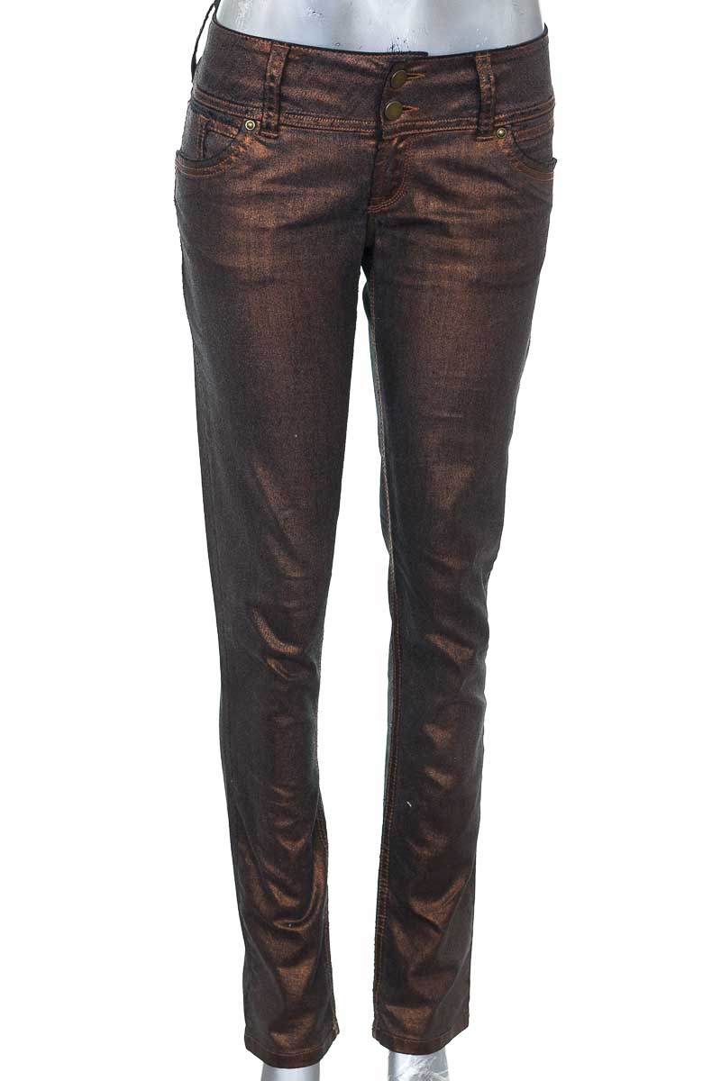 Pantalón Casual color Bronce - Silvia Tcherassi