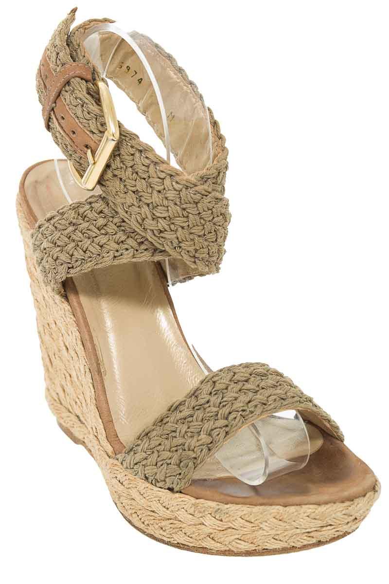 Zapatos Sandalia color Beige - Stuart Weitzman