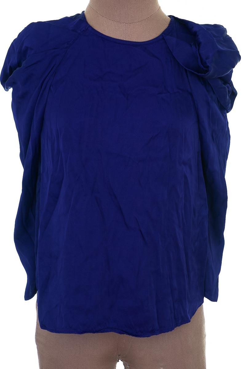 Blusa Casual color Morado - Zara