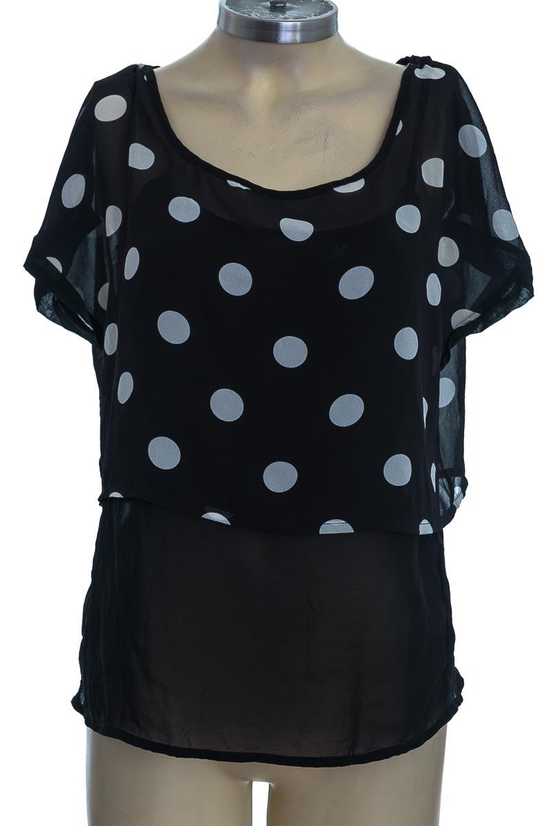 Blusa color Negro - Bershka