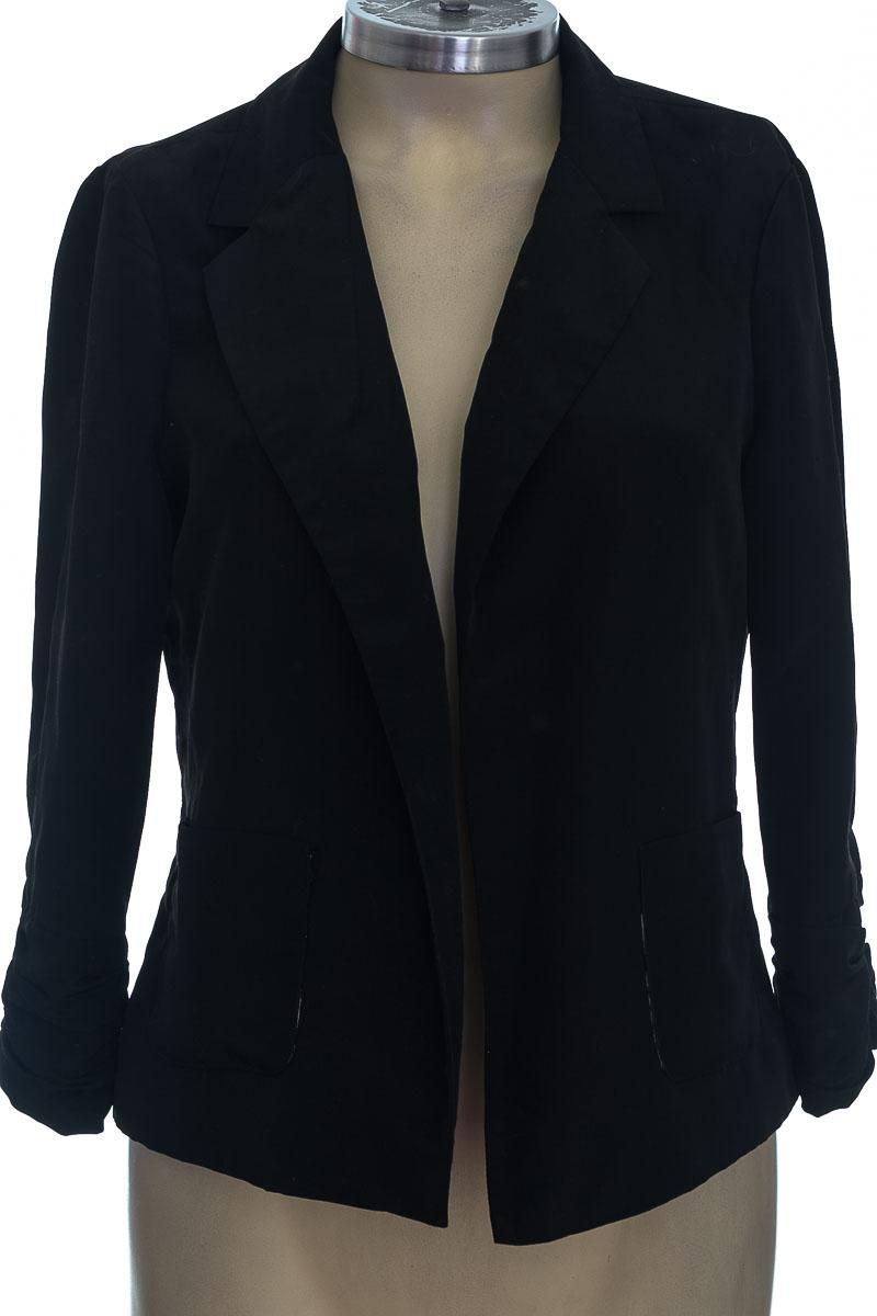 Chaqueta / Abrigo color Negro - Basement