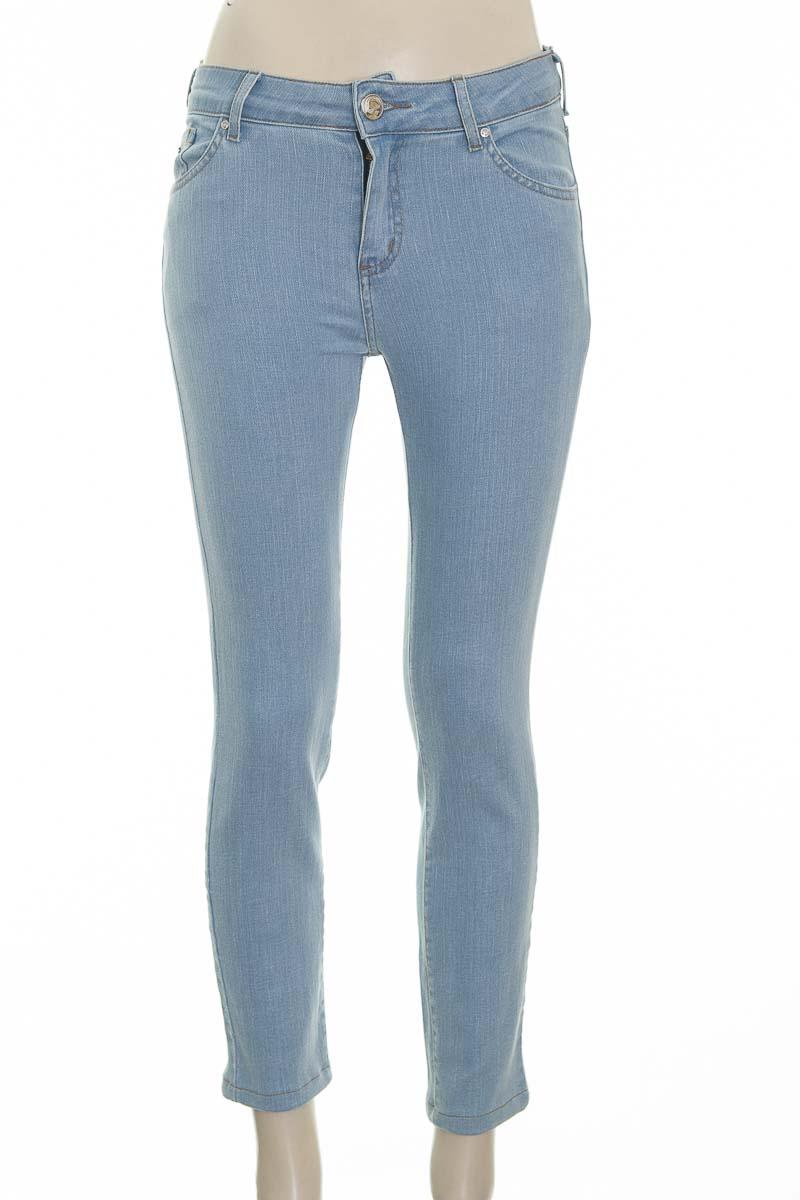 Pantalón color Azul - Carmen Steffens