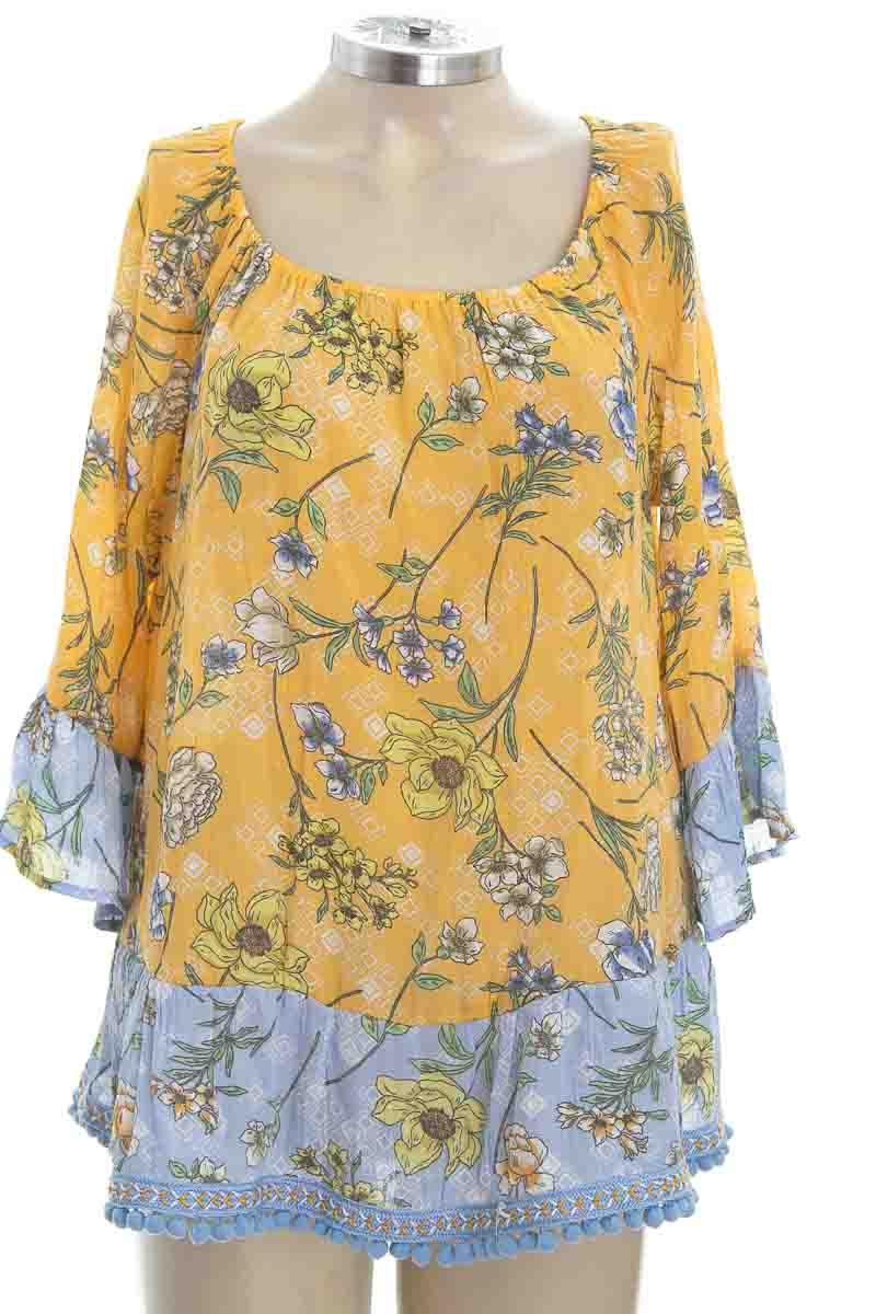 Blusa color Amarillo - Zac & Rachel