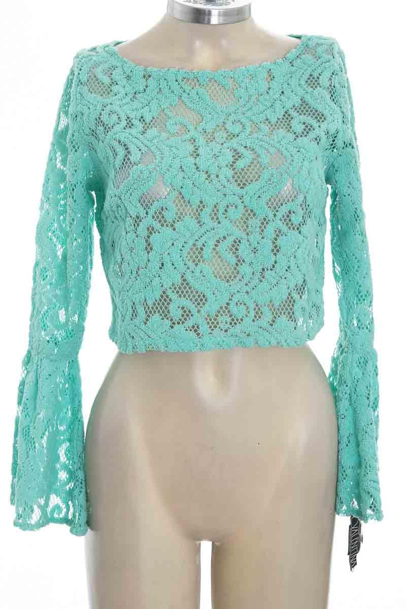 Blusa color Verde - La Valentina