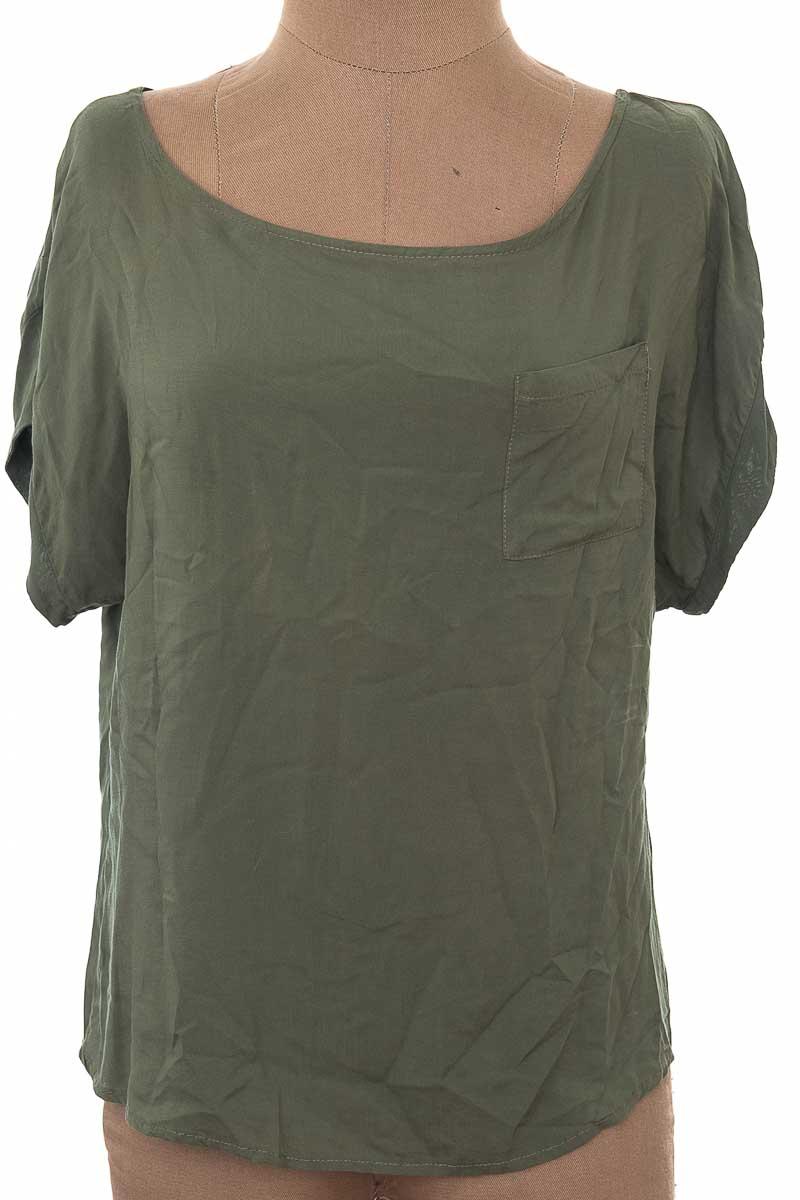 Blusa Casual color Verde - Pacífika