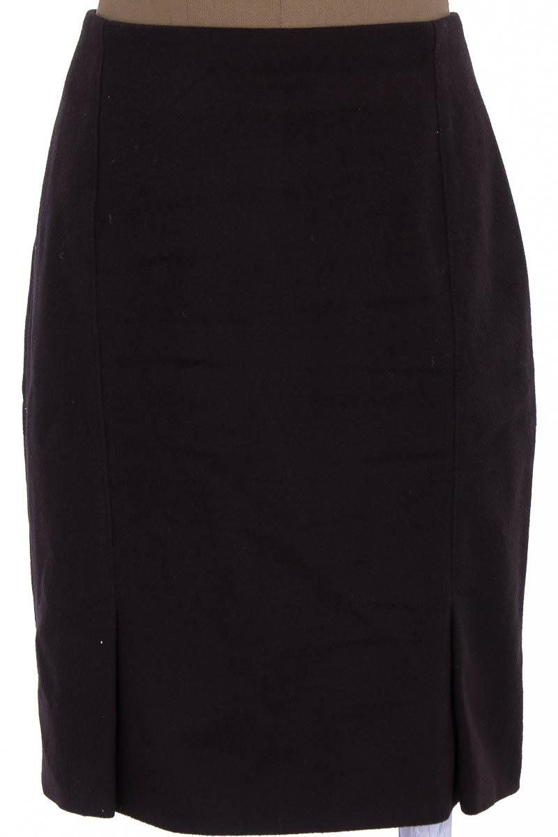 Falda Elegante color Morado - Bénédí Couture