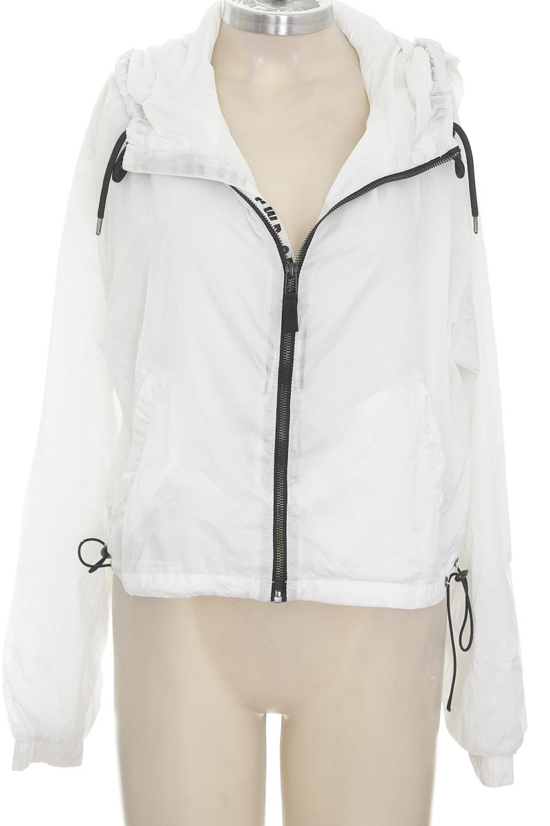 Chaqueta / Abrigo color Blanco - Bershka