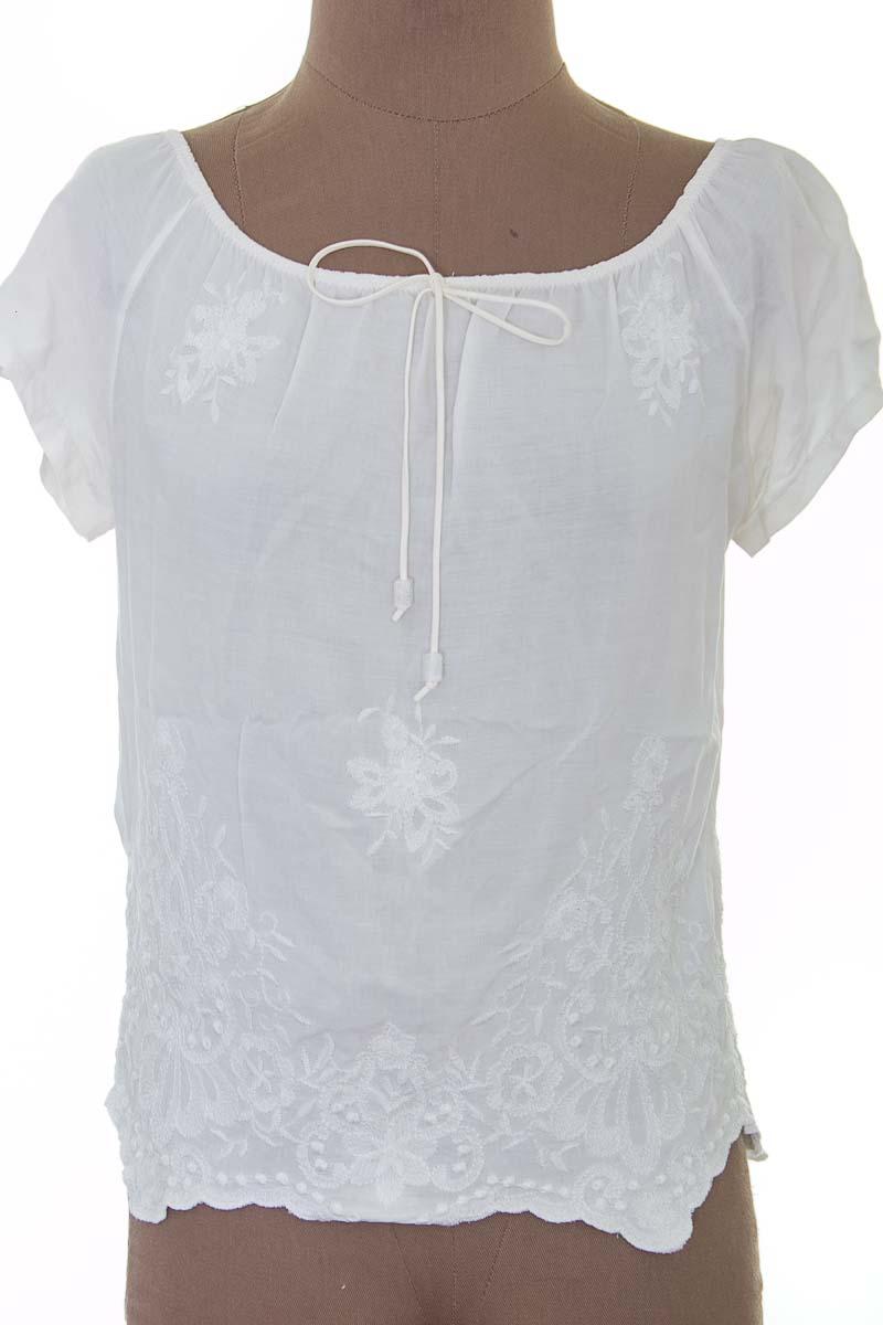 Blusa color Blanco - Italia