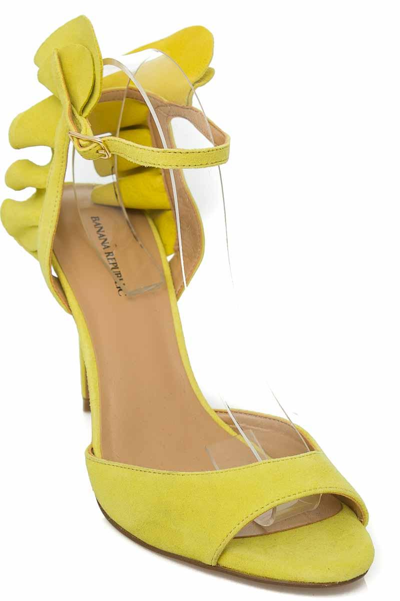 Zapatos Sandalia color Verde - Banana Republic
