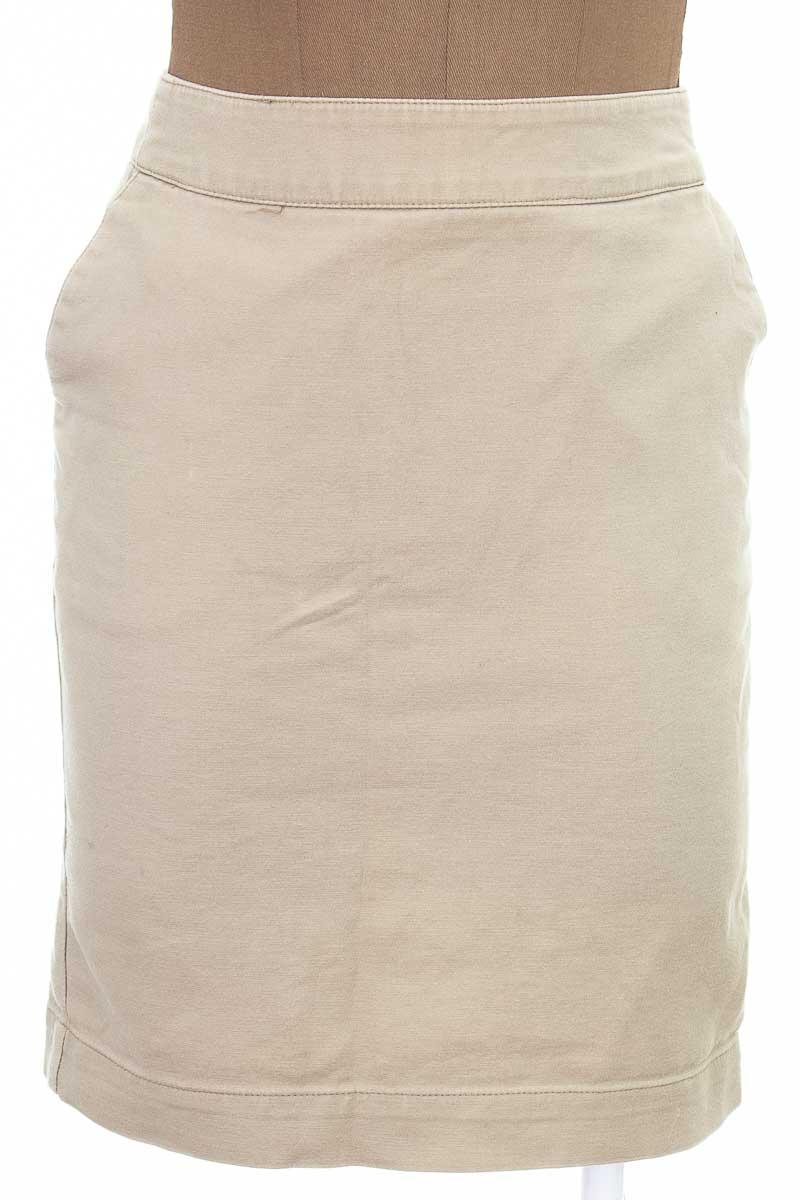 Falda Elegante color Beige - Merona