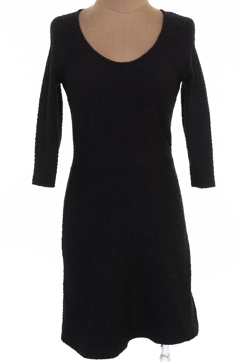 Vestido / Enterizo Casual color Negro - Bershka