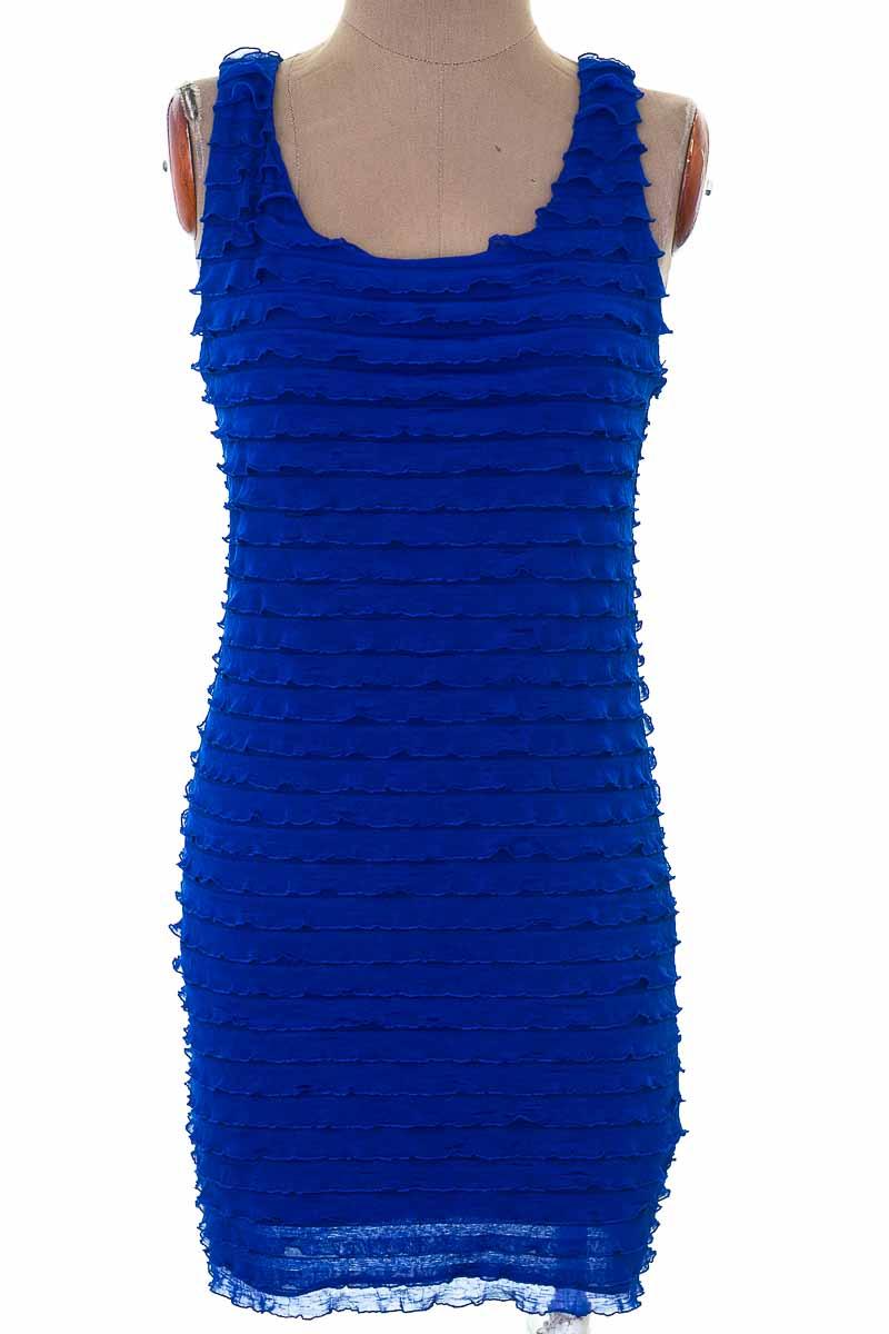 Vestido / Enterizo Fiesta color Azul - Forever 21