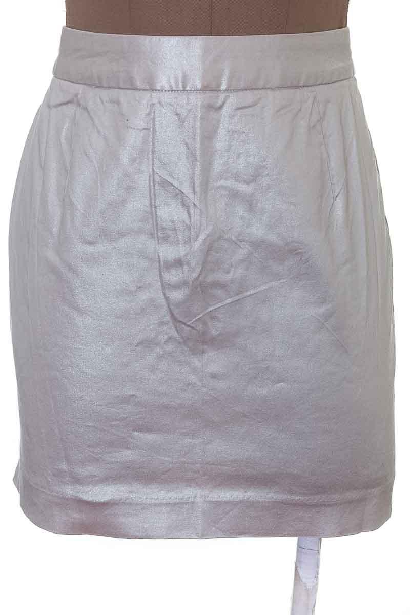 Falda Elegante color Plateado - Basement