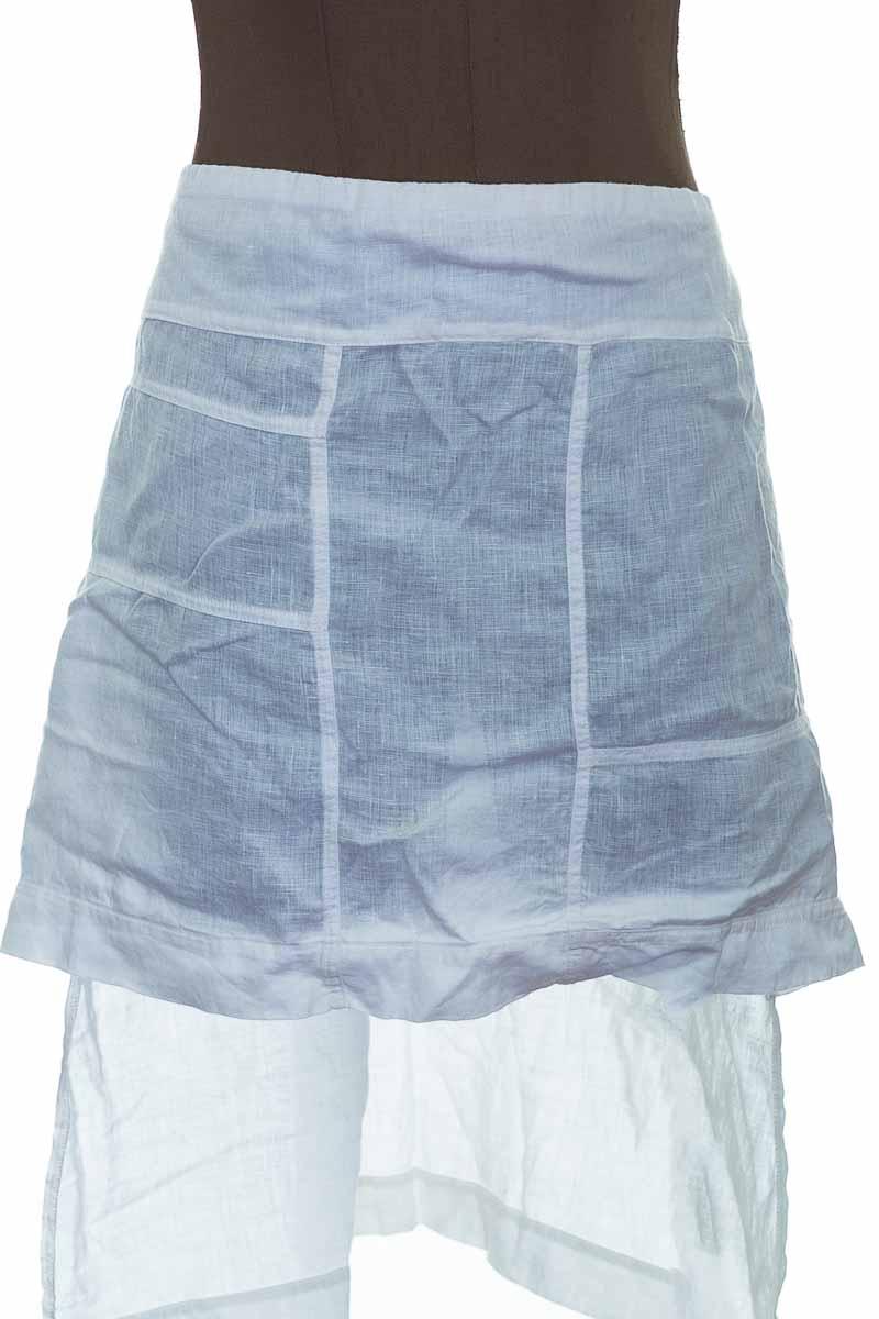 Falda Casual color Blanco - Touche