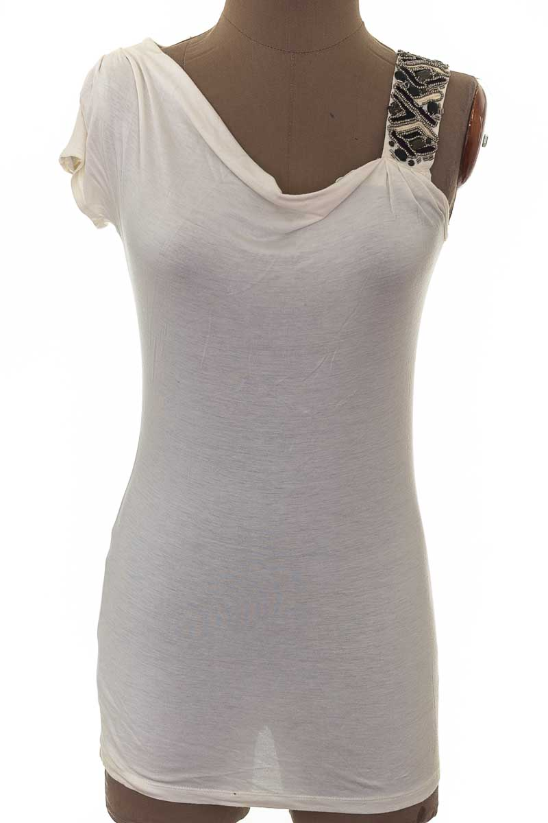 Blusa Casual color Blanco - Design History