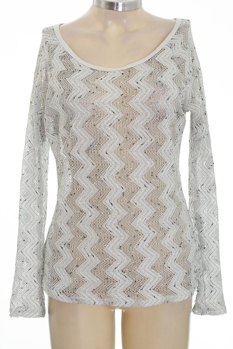 Sweater color Blanco - Wasabi