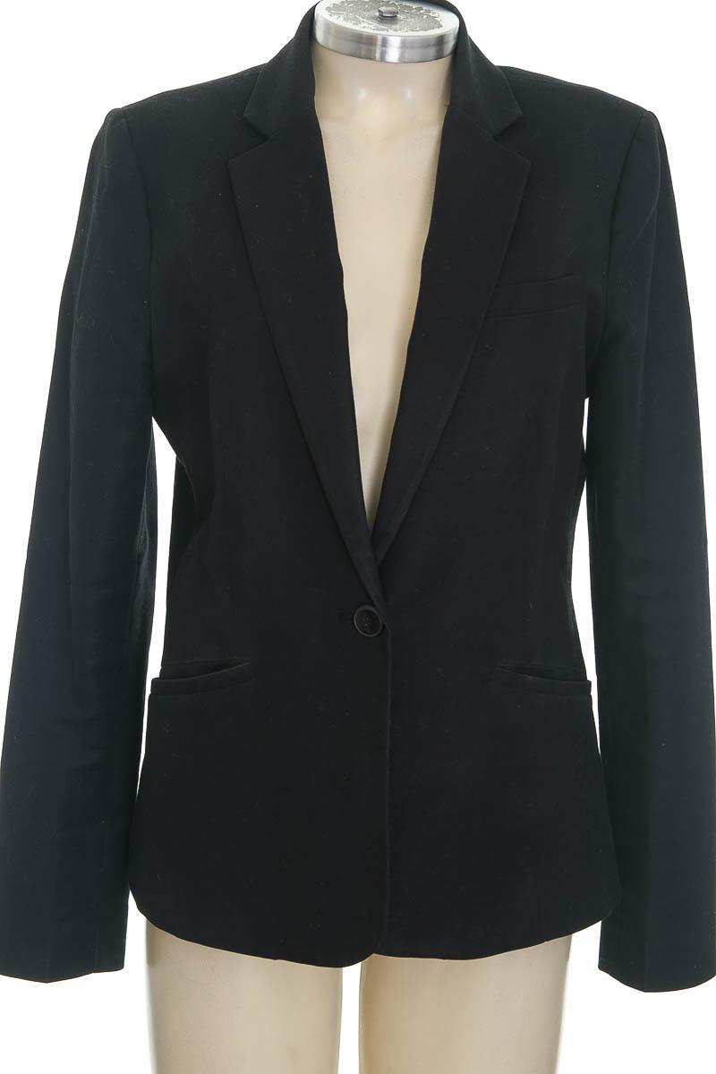 Chaqueta / Abrigo color Negro - MNG