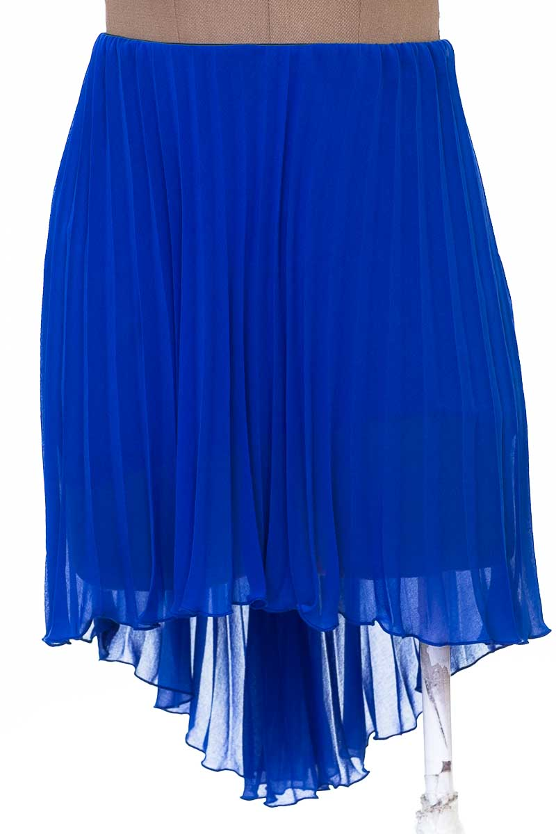 Falda Elegante color Azul - United Colors of Benetton