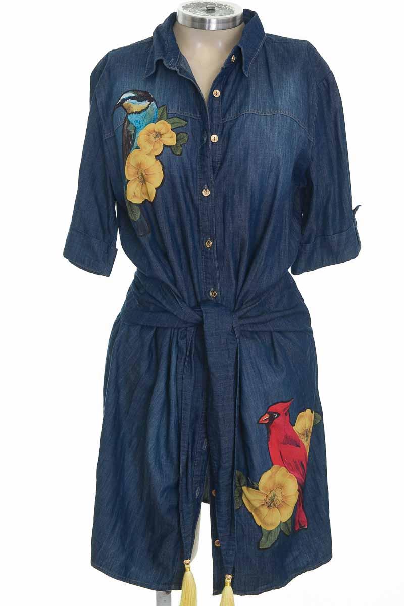 Vestido / Enterizo color Azul - Carmen Steffens