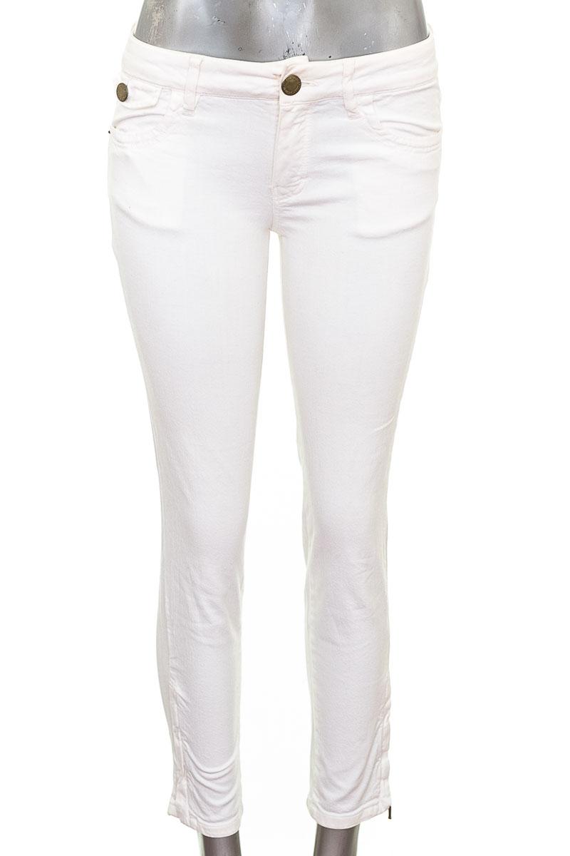 Pantalón Jeans color Blanco - Massimo Dutti